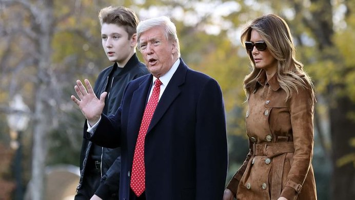 Petition To Save Barron Trump Deleted By Change Org Know Your Meme