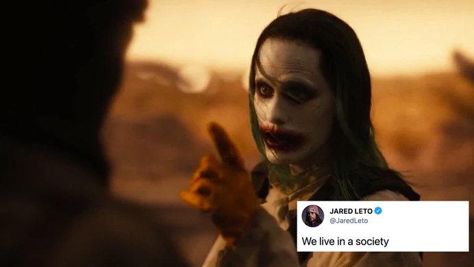 joker in zack snyder's justice league