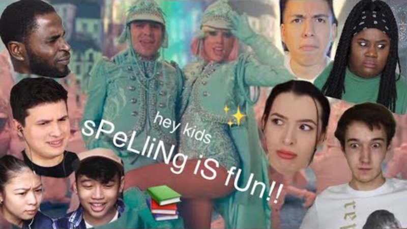 "People Reacting To The ""Spelling Is Fun"" Line In ME! By Taylor Swift"