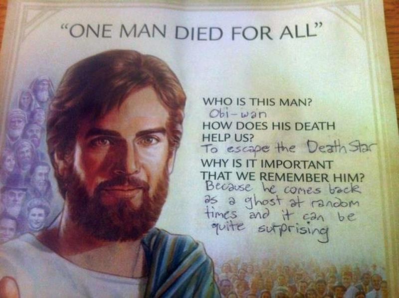 Obi Wan Christ Star Wars Know Your Meme