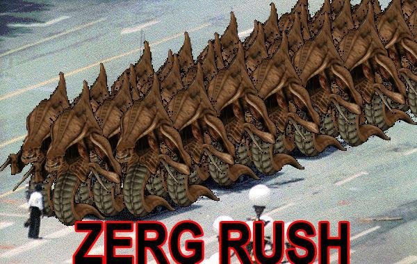 image 18578 zerg rush know your meme