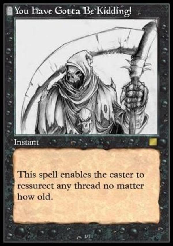 Image - 28453] | Necro Posting | Know Your Meme