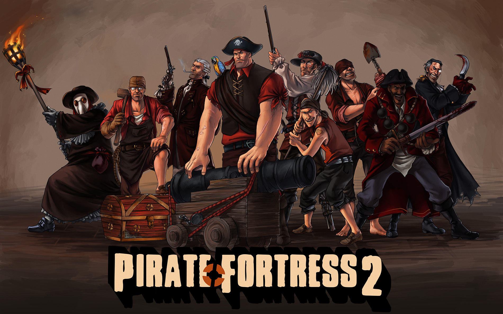 Pirate Fortress 2 | Team Fortress 2 | Know Your Meme