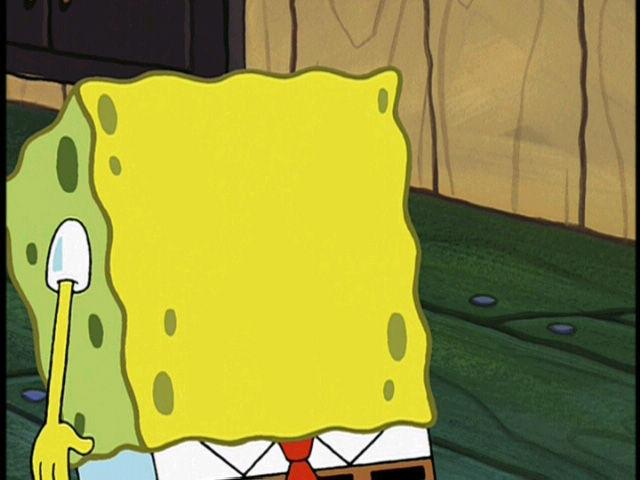 Give SpongeBob a Face | Exploitables | Know Your Meme