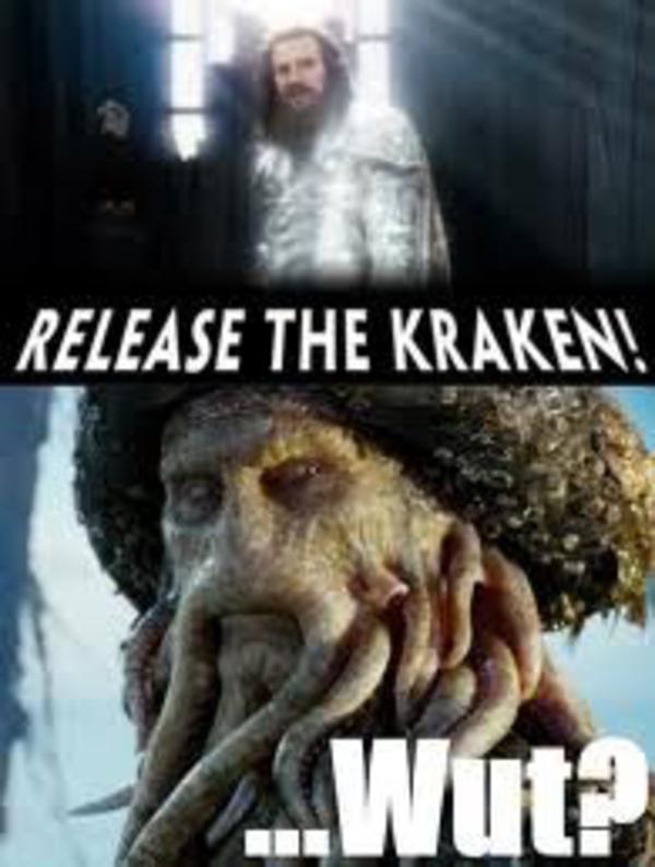 Release The Kraken Commercial