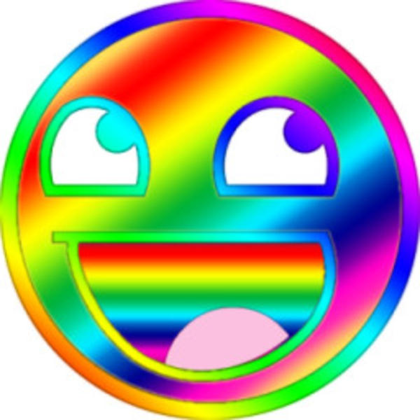 image 126141 awesome face epic smiley know your meme rh knowyourmeme com Crazy Smiley Face Clip Art Dancing Smiley Face Clip Art