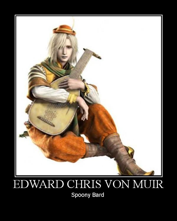 Demotivational Poster Feat Edward You Spoony Bard Know Your Meme