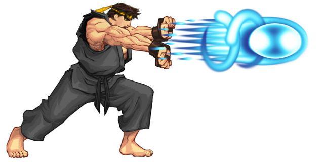 wallpaper street fighter ryu hadouken