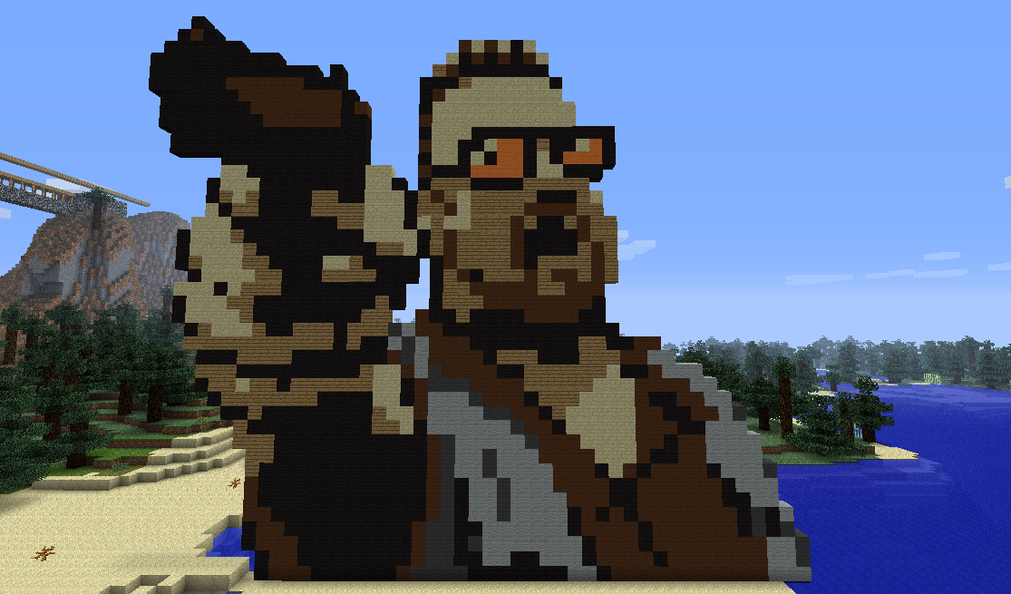 Image 281432 Minecraft Pixel Art Know Your Meme