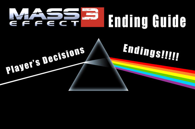 mass effect ending guide mass effect 3 endings reception know rh knowyourmeme com Mass Effect Galaxy mass effect 3 endings list