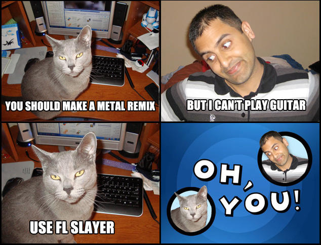 Metal Remix Oh You Know Your Meme