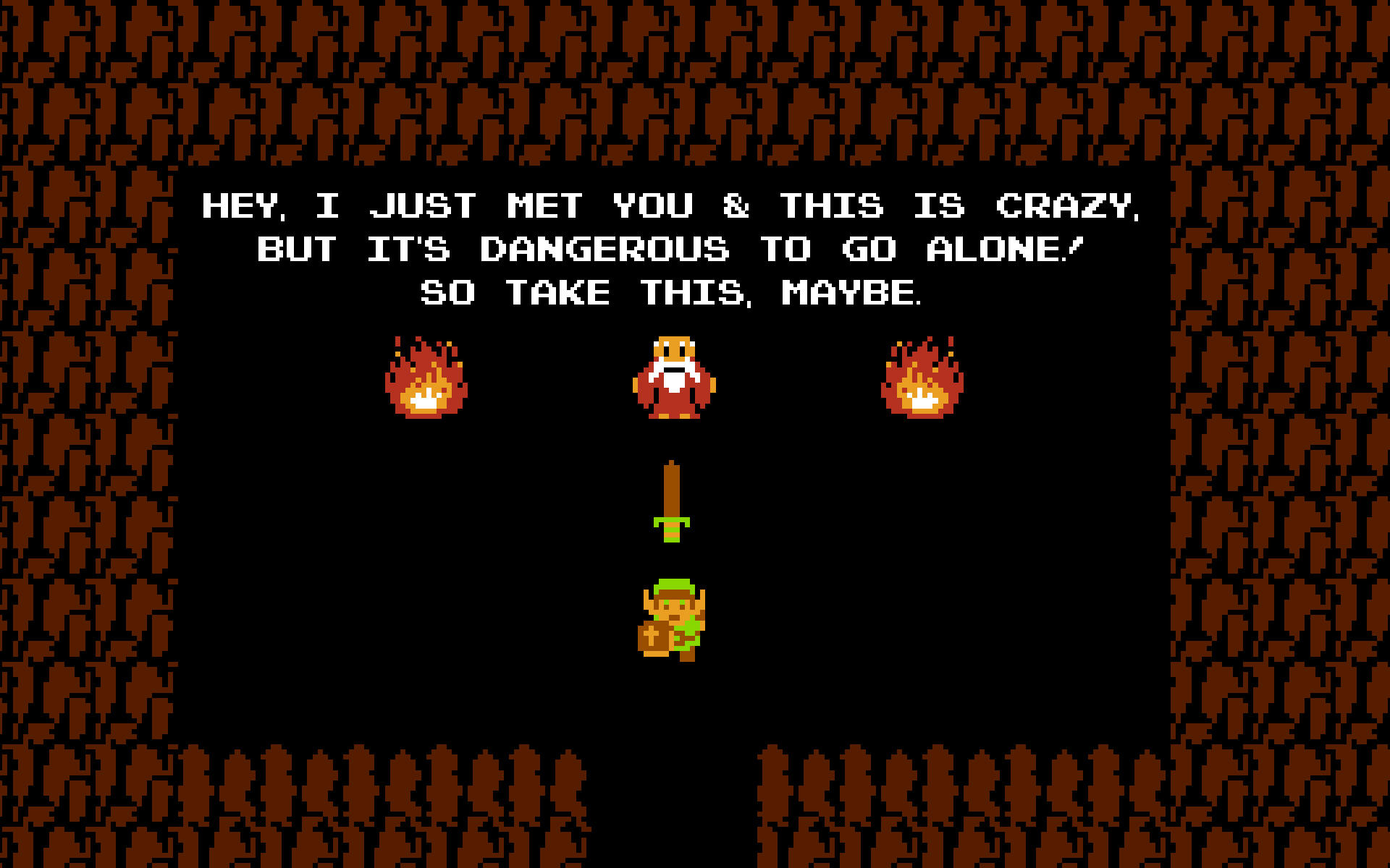 It S Dangerous To Go Alone Take This Maybe Call Me Maybe