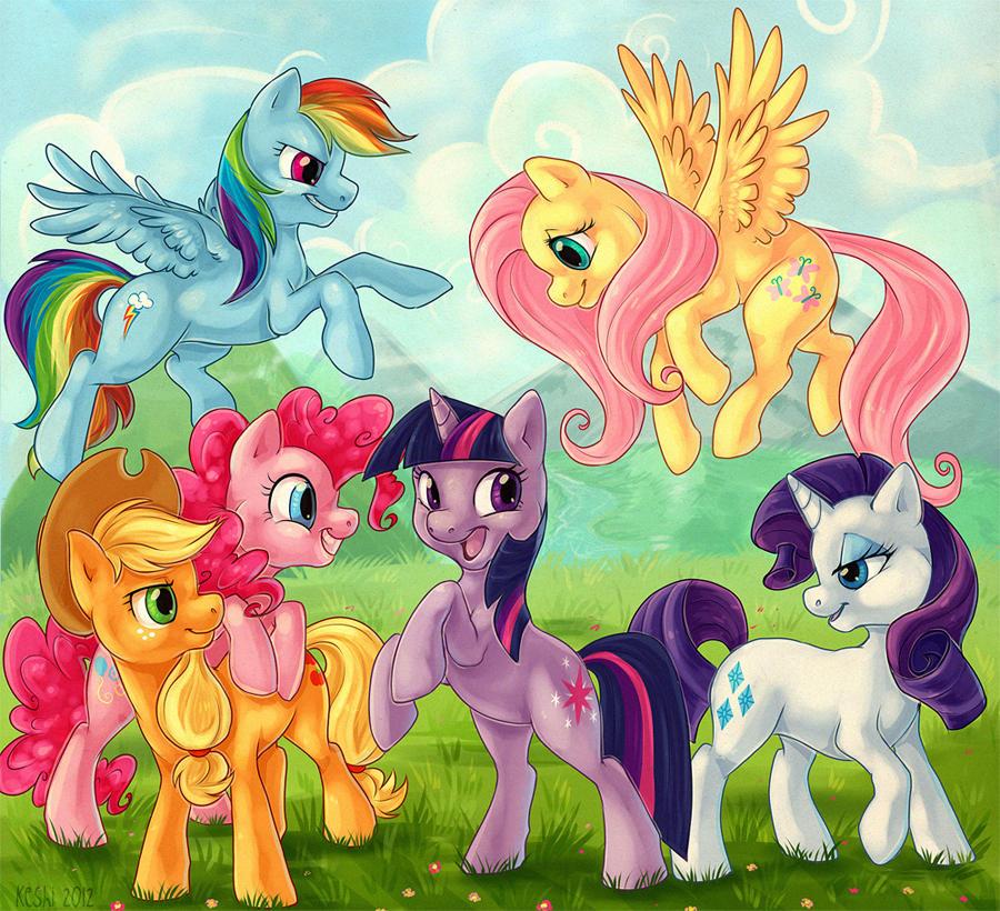 Картинки милая пони все герои
