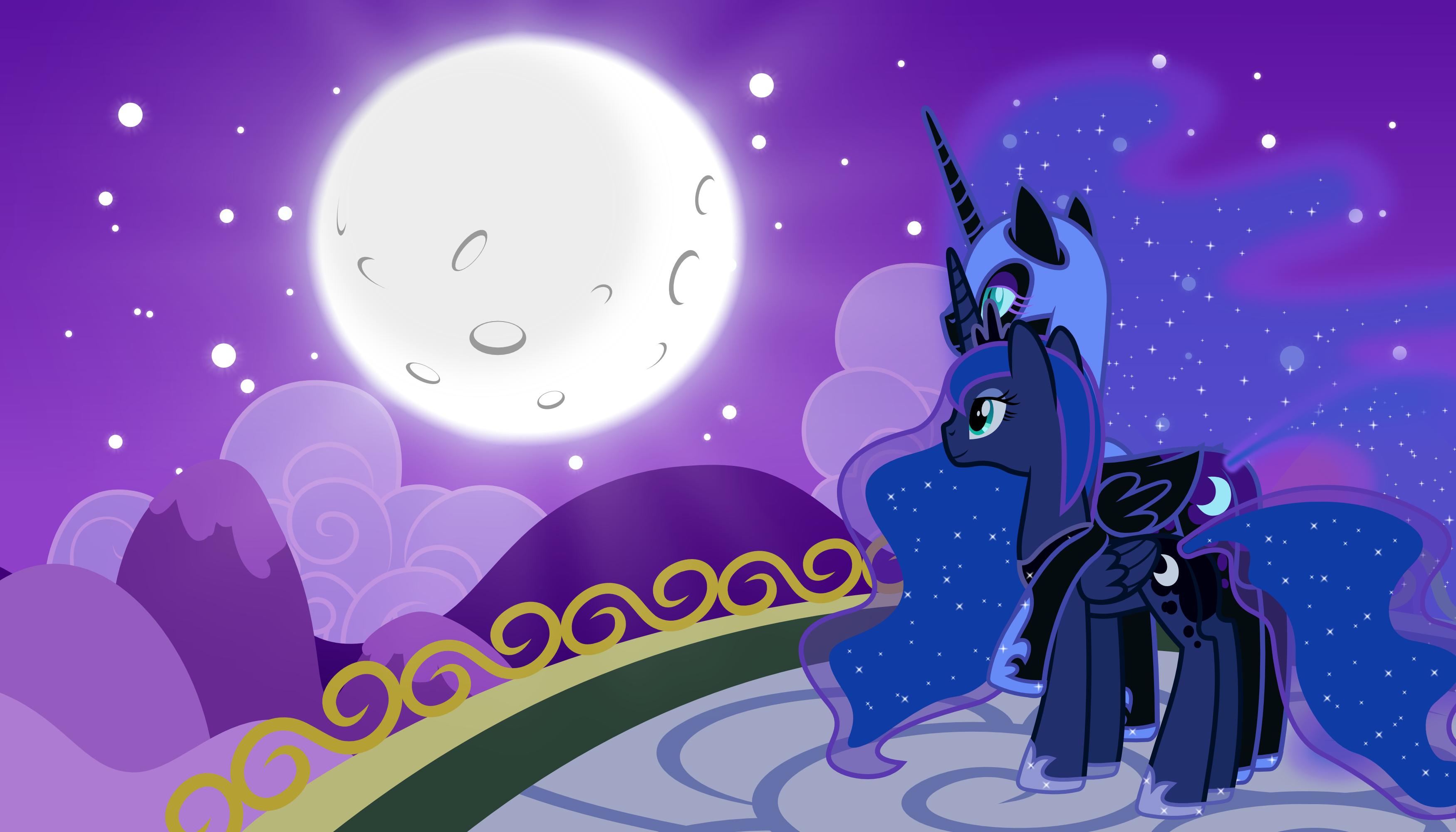 всего картинки фоны с луной пони описании фото часы