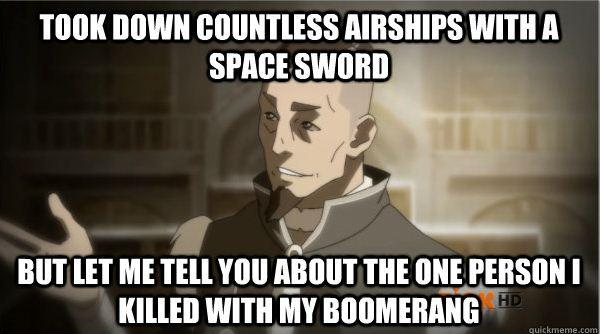 Councilman Sokka Avatar The Last Airbender The Legend Of