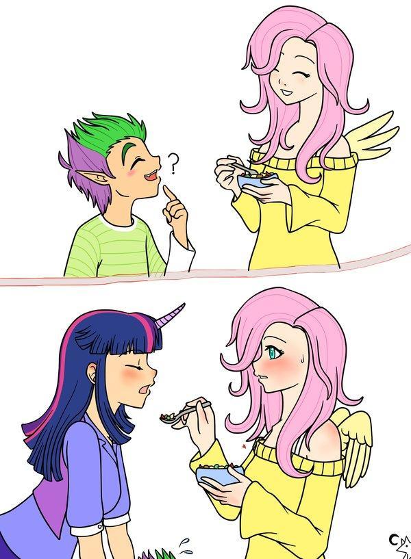f18b158ccf Fluttershy Twilight Sparkle Spike Pinkie Pie Rainbow Dash Rarity Applejack  Princess Celestia Sunset Shimmer clothing hair