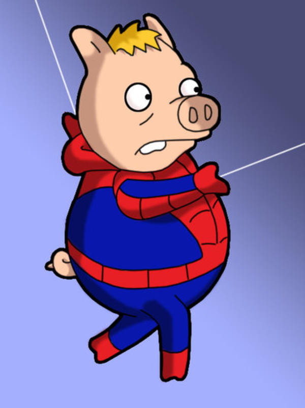 Image 377290 Spider Pig Harry Plopper Know Your Meme