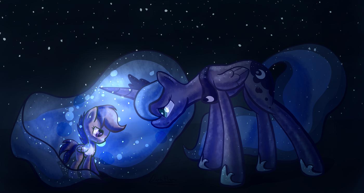 Картинки пони ночи