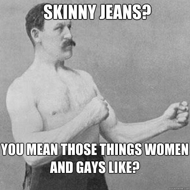 overly manly man meme generator