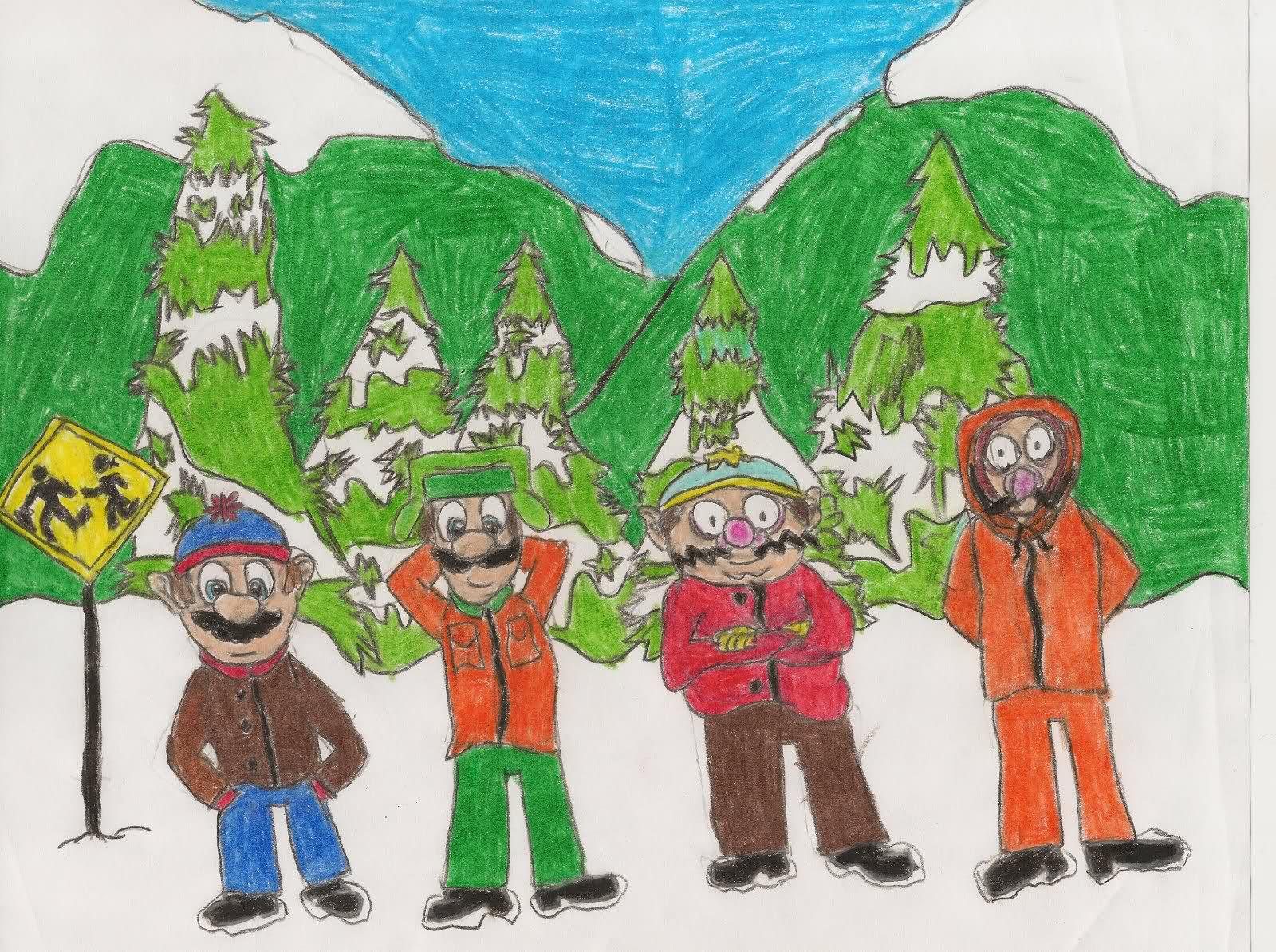 south park super mario bros 1