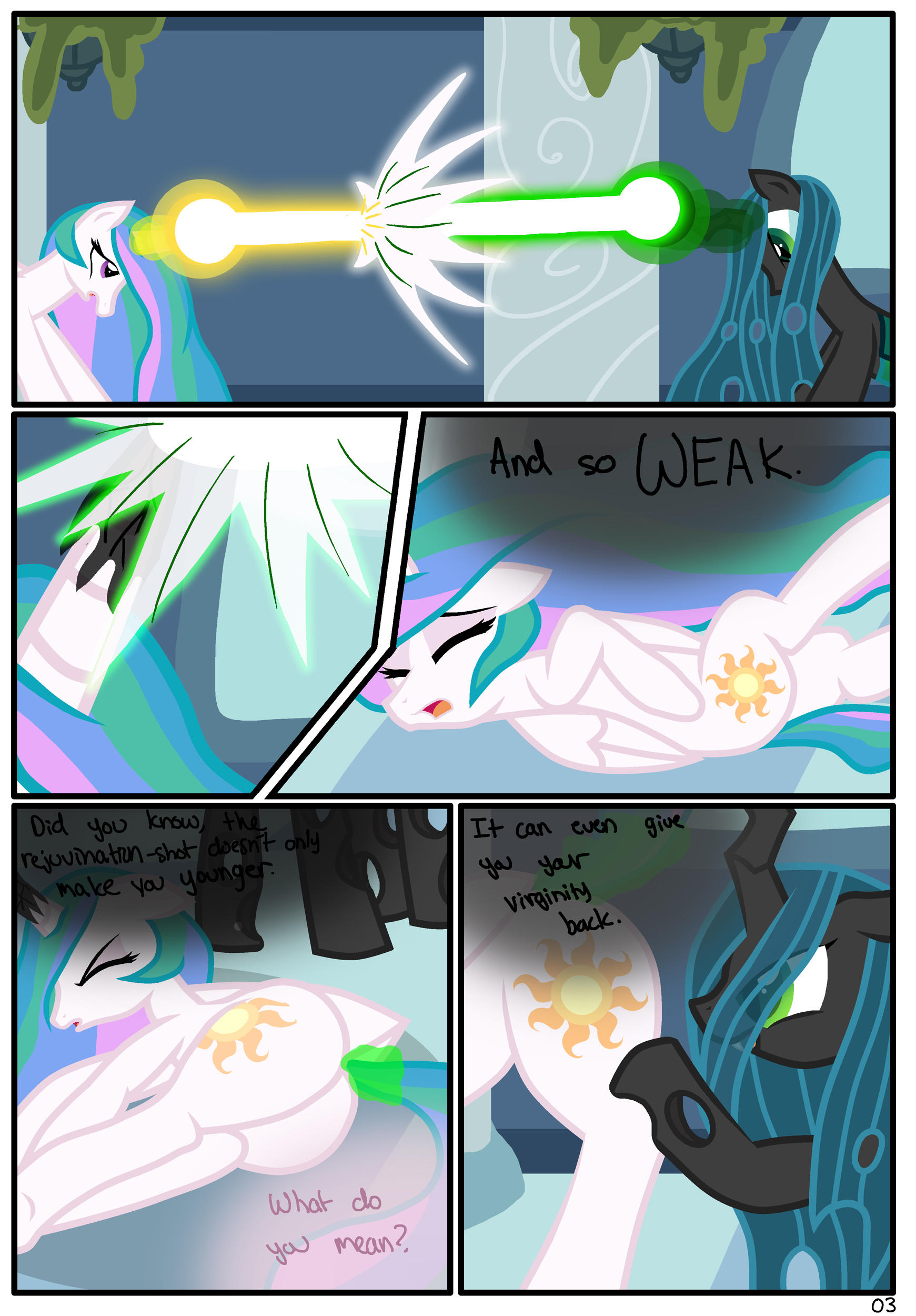 Consumed Love: Page 03 | My Little Pony: Friendship is ...