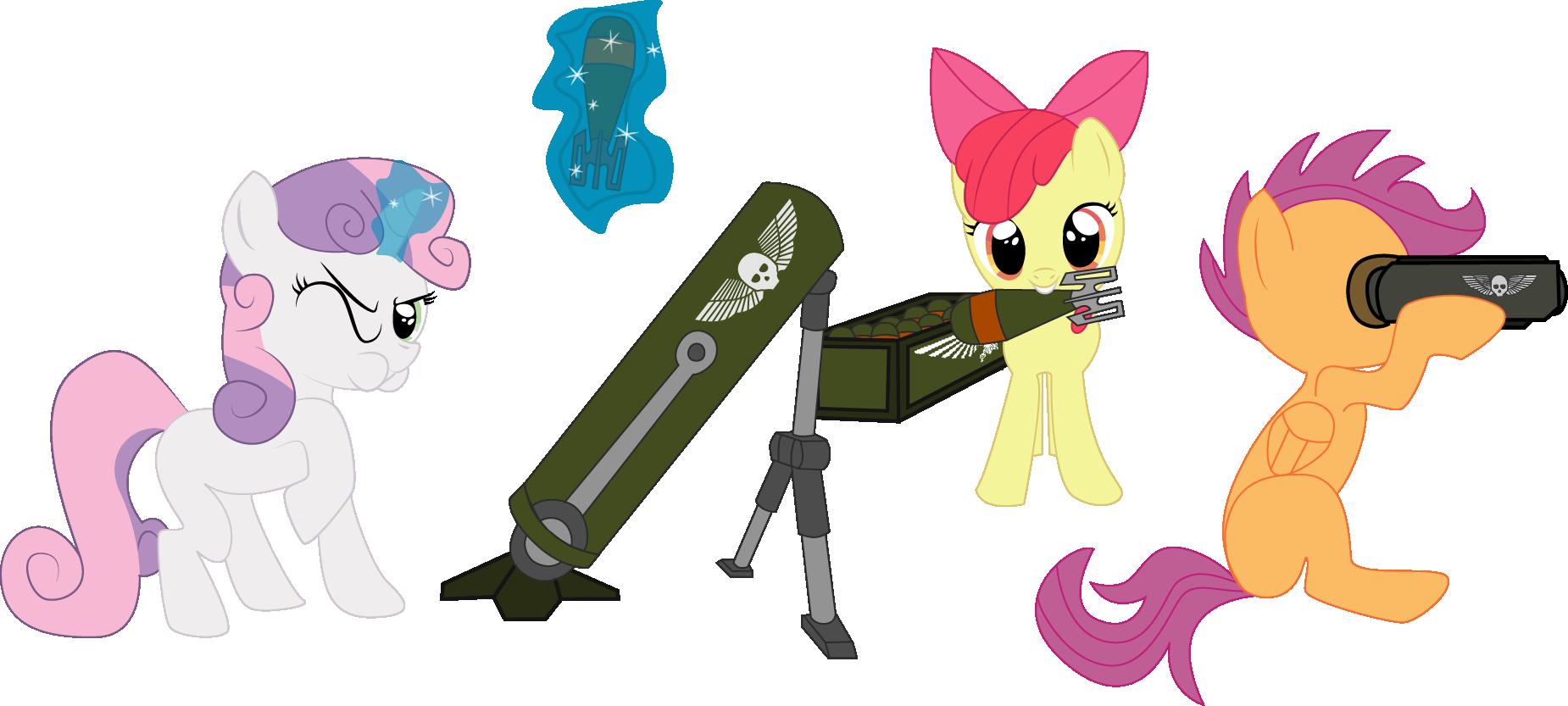 Картинки оружие для пони