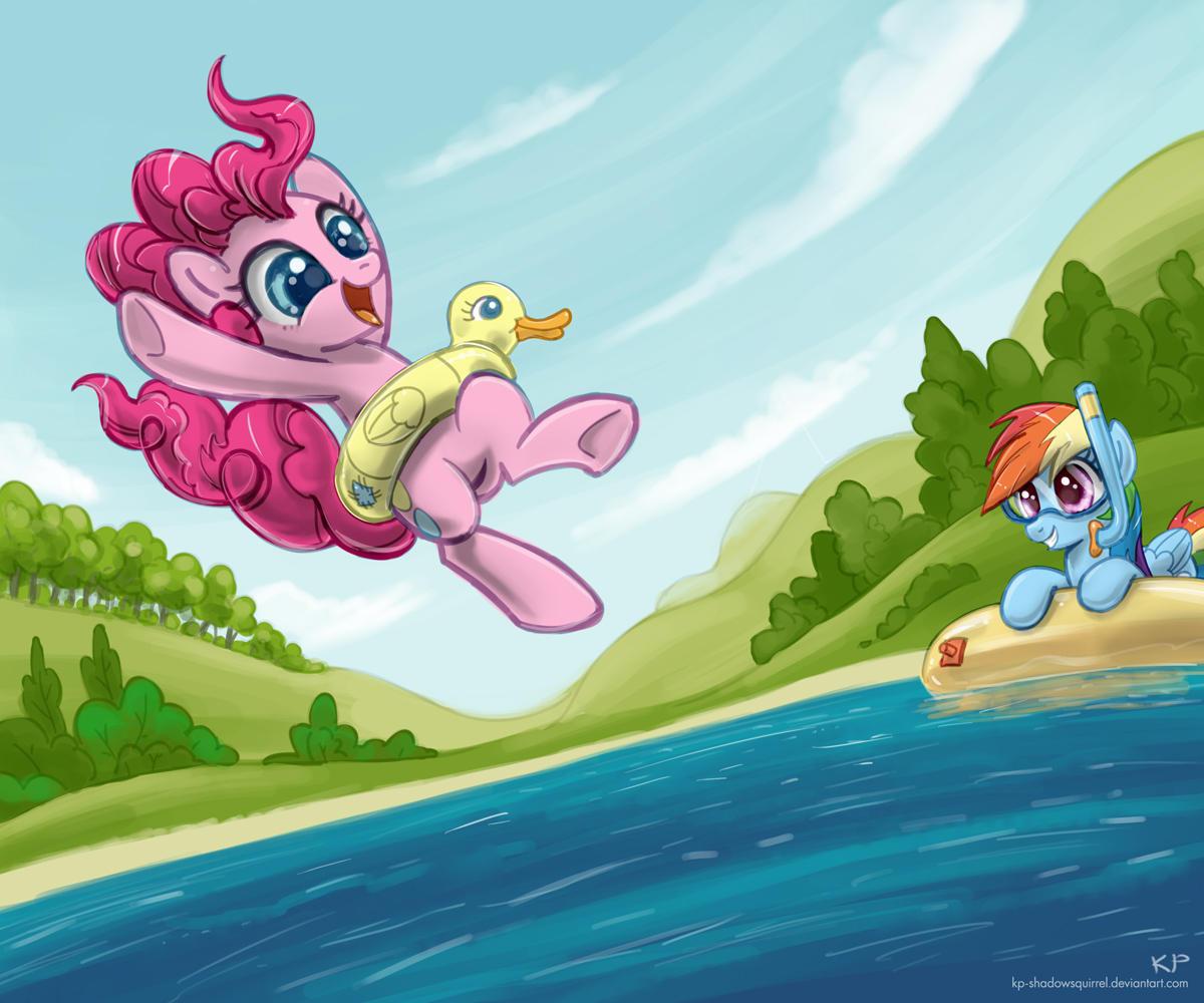 Май литл пони на море картинки