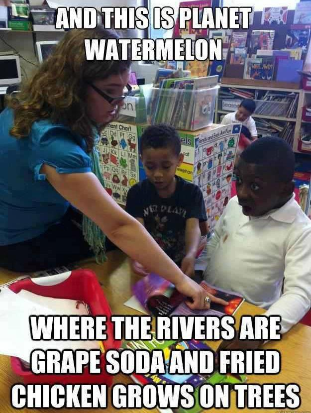 Planet Watermelon  Thats Racist  Know Your Meme