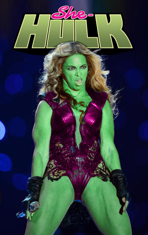 She Hulk Unflattering Beyonce Know Your Meme