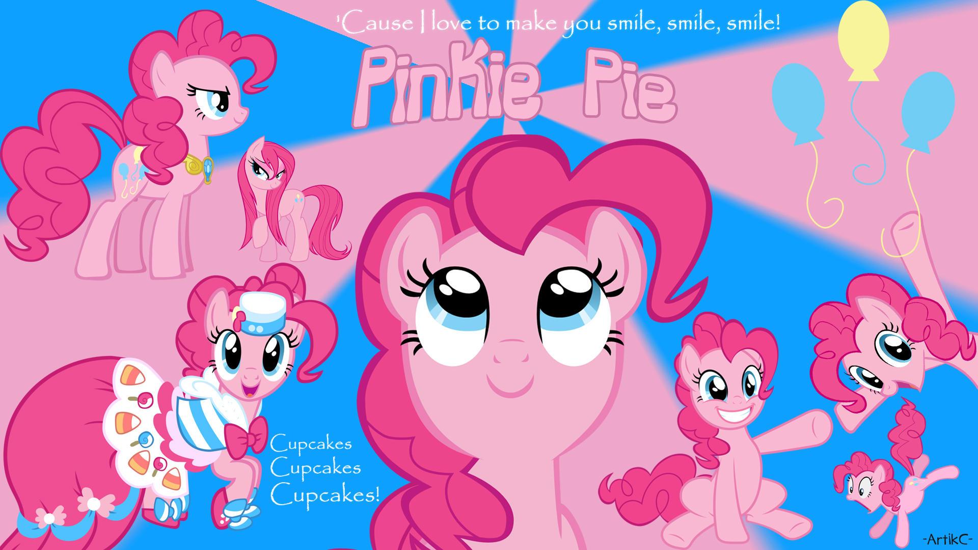 Pinkie Pie Ac Wallpaper My Little Pony Friendship Is Magic