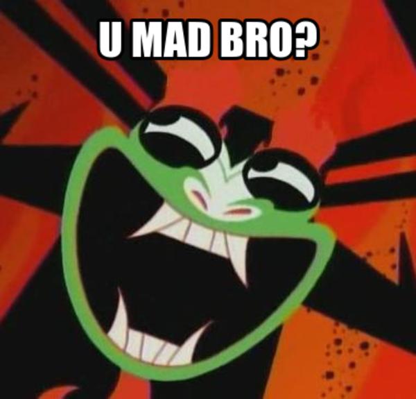U Mad Bro Aku Samurai Jack Know Your Meme