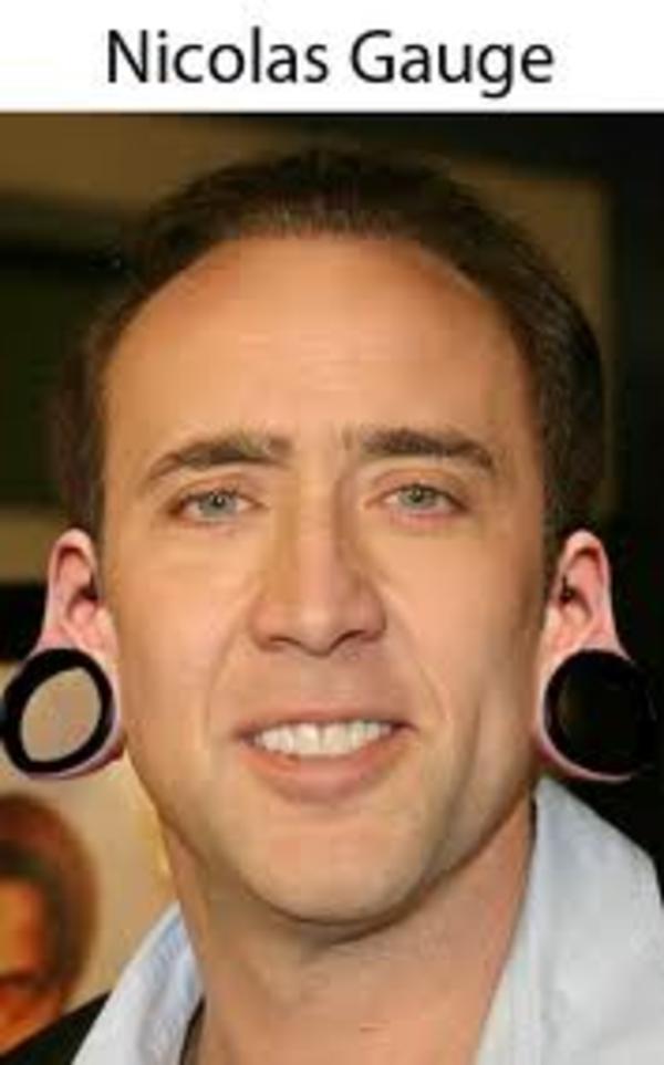 Nicolas Gauge Nicolas Cage Know Your Meme