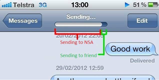 Nsa texting