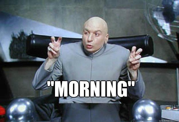 Image - 594709]   Dr. Evil Air Quotes   Know Your Meme