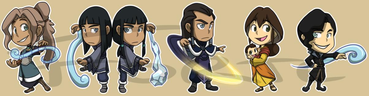 Avatar The Legend Of Korra Characters List