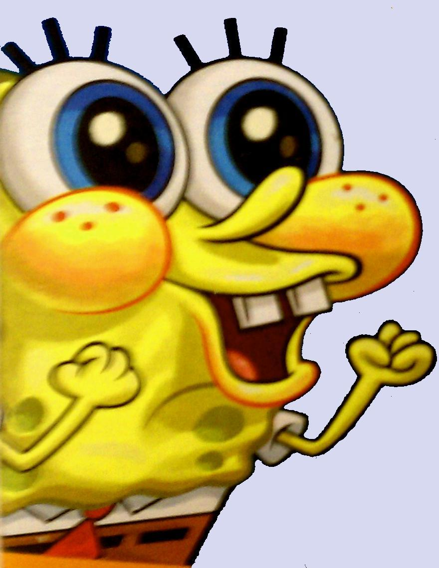 Spongebob squarepants spongebobs excited reaction