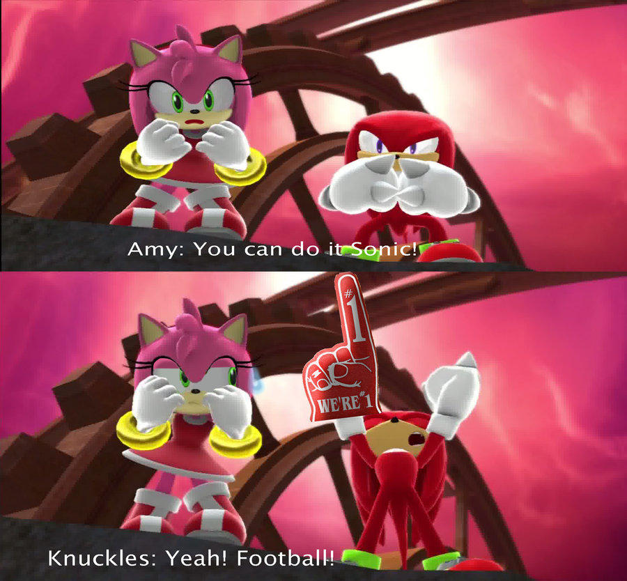 Knuckleheaded Knuckles Sonic The Hedgehog Know Your Meme