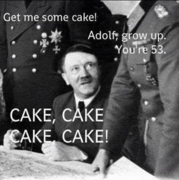 Strange Image 689026 Adolf Hitler Know Your Meme Funny Birthday Cards Online Inifofree Goldxyz
