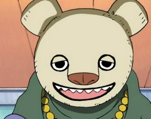One Piece CP9 Bear Mask | One Piece | Know Your Meme
