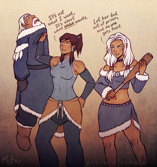 The legend of korra sexy