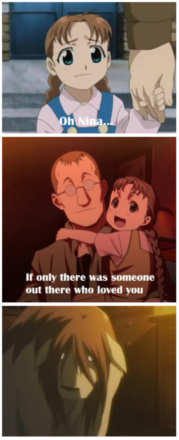 Fullmetal Alchemist Nina Tucker i'm going to hell for this one | nina tucker | know your meme