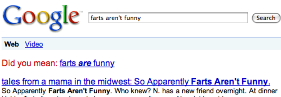 Farts Are Funny | Did You Mean? | Know Your Meme