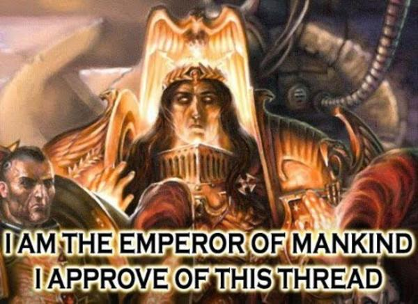 Image result for the emperor approves