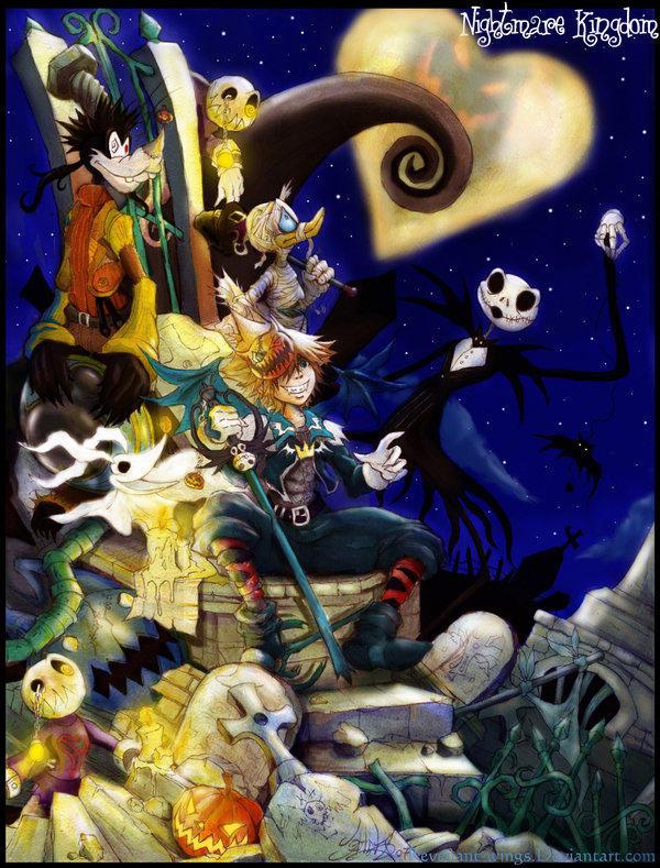 Kingdom Hearts Christmas.Nightmare Kingdom The Nightmare Before Christmas Know