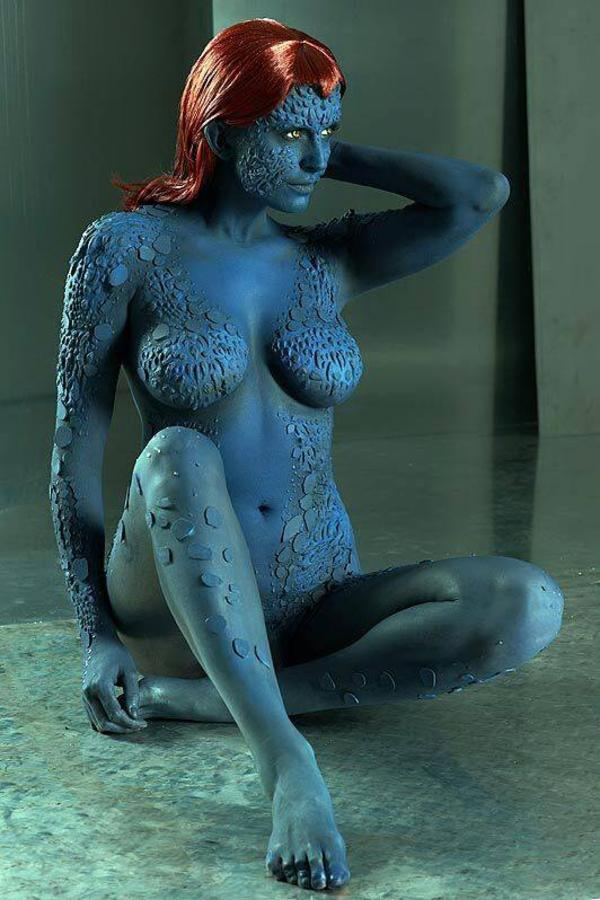 Naked girl from x men, large tits sex