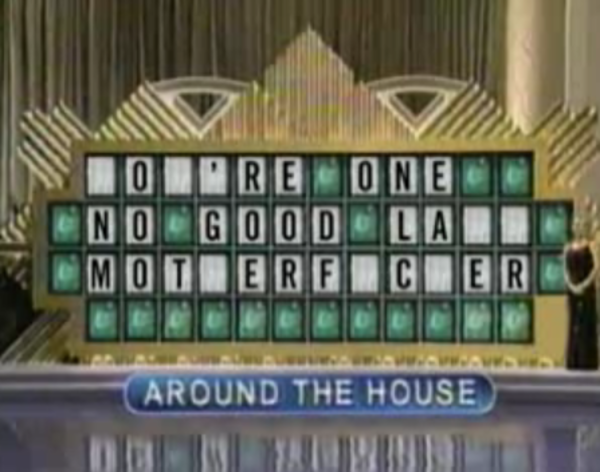 Puzzle  Board Wheel | Fail Wheel of Fortune Parodies of