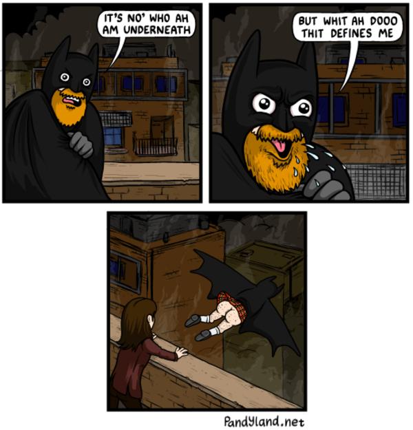 Scottish Batman Batman Know Your Meme