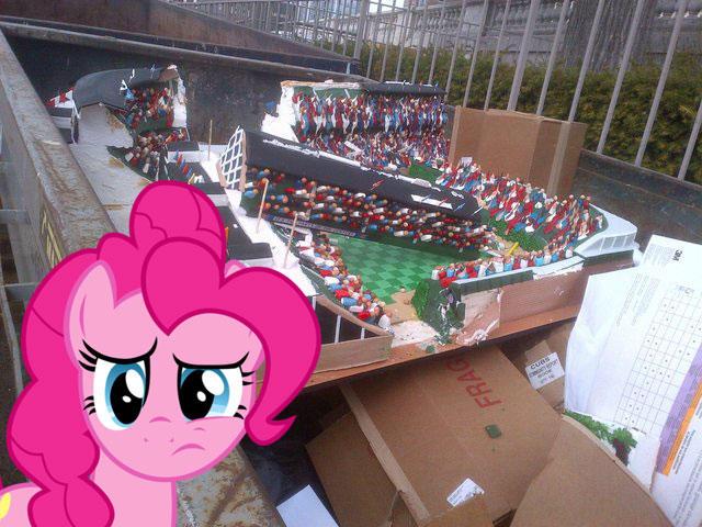 Trashed Cake Miffs Pinkie My Little Pony Friendship Is Magic