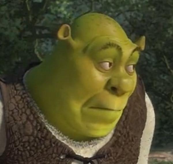 Bored Shrek Shrek Know Your Meme