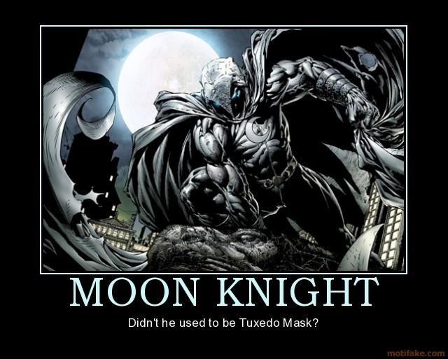 Motivated Moon Knight Marvel Comics Know Your Meme